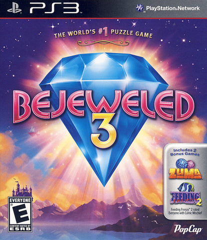 Bejeweled 3 (PLAYSTATION3) PLAYSTATION3 Game