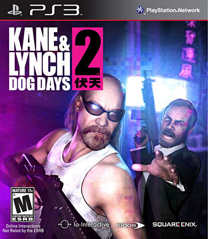 Kane and Lynch 2 - Dog Days (PLAYSTATION3) PLAYSTATION3 Game
