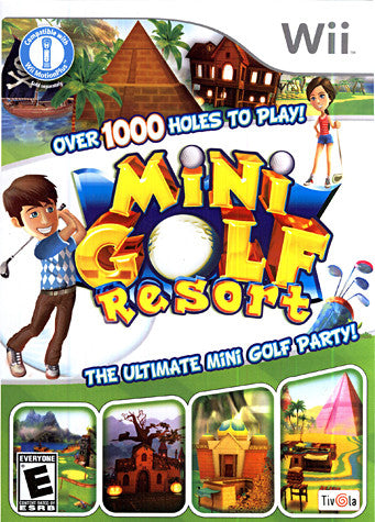 Mini Golf Resort (NINTENDO WII) NINTENDO WII Game