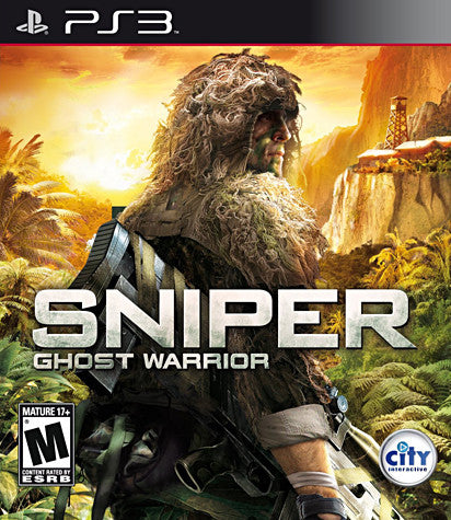 Sniper - Ghost Warrior (PLAYSTATION3) PLAYSTATION3 Game