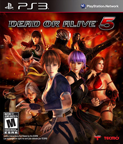 Dead Or Alive 5 (Bilingual cover) (PLAYSTATION3) PLAYSTATION3 Game