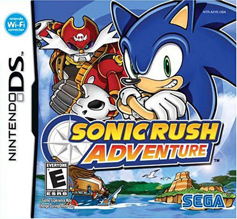 Sonic Rush Adventure (DS) DS Game