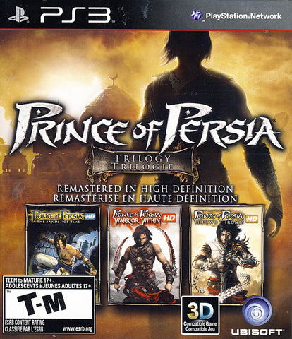 Prince of Persia Trilogy HD (Bilingual Cover) (PLAYSTATION3) PLAYSTATION3 Game