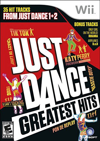 Just Dance - Greatest Hits (NINTENDO WII) NINTENDO WII Game