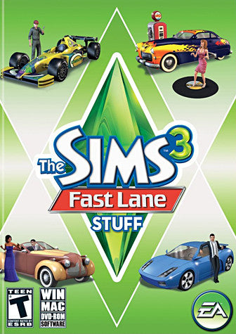 The Sims 3 - Fast Lane Stuff (PC) PC Game