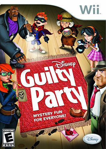 Guilty Party (NINTENDO WII) NINTENDO WII Game
