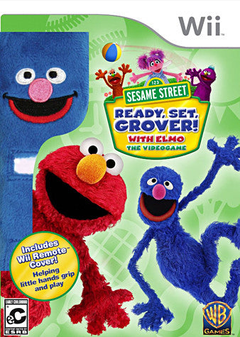 Sesame Street - Ready, Set, Grover! (Remote Cover) (NINTENDO WII) NINTENDO WII Game