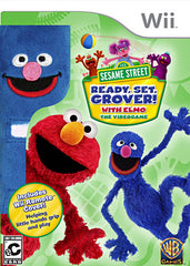 Sesame Street - Ready, Set, Grover! (Remote Cover) (NINTENDO WII)