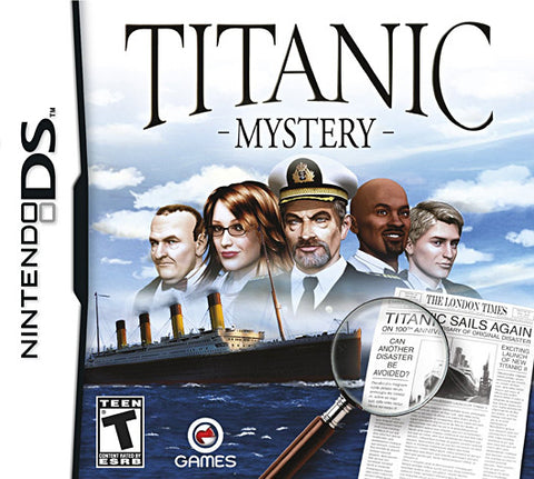 Titanic - Mystery (DS) DS Game