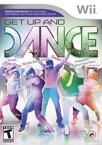 Get Up And Dance (NINTENDO WII) NINTENDO WII Game
