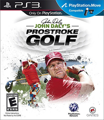 John Daly's - ProStroke Golf (Playstation Move) (PLAYSTATION3) PLAYSTATION3 Game