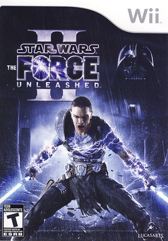 Star Wars - The Force Unleashed II (2) (NINTENDO WII) NINTENDO WII Game