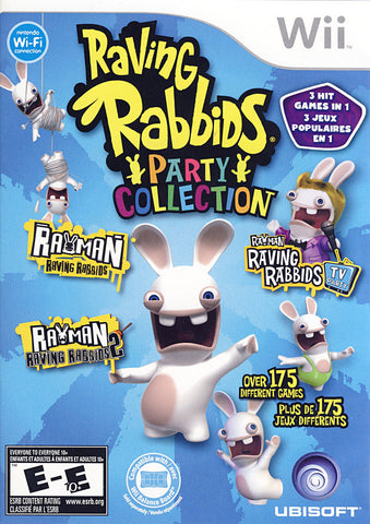 Raving Rabbids Party Collection (Bilingual Cover) (NINTENDO WII) NINTENDO WII Game