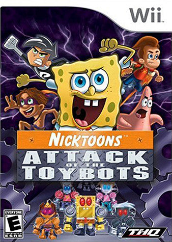 Nicktoons - Attack of the Toybots (NINTENDO WII) NINTENDO WII Game