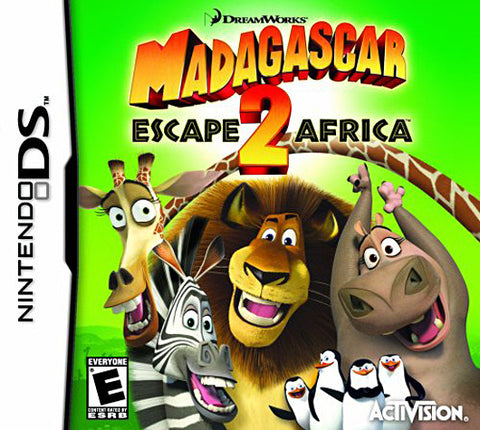 Madagascar 2 - Escape 2 Africa (DS) DS Game
