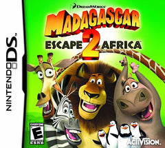 Madagascar 2 - Escape 2 Africa (DS)