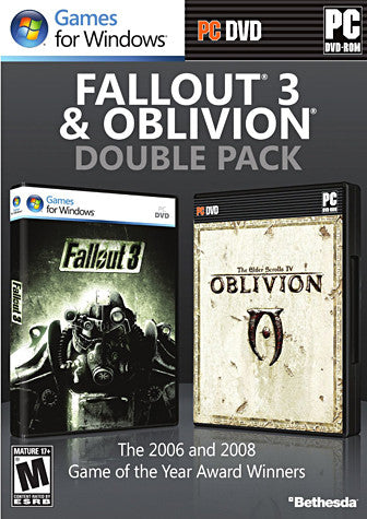 Fallout 3 And Oblivion (Double Pack) (PC) PC Game