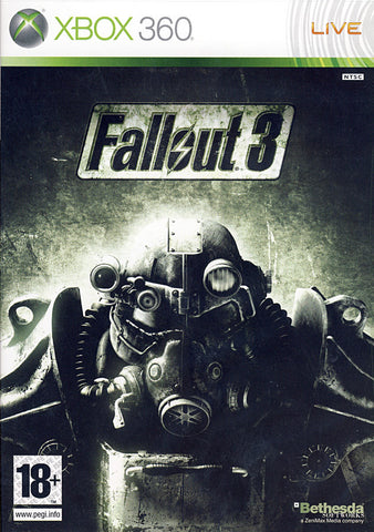 Fallout 3 (French Version Only) (XBOX360) XBOX360 Game