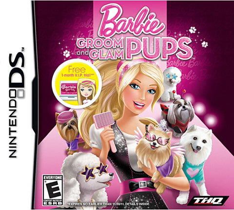 Barbie - Groom and Glam Pups (DS) DS Game