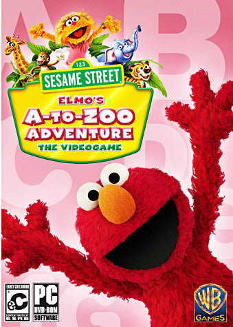Sesame Street - Elmo's A-to-Zoo Adventure (Limit 1 copy per client) (PC) PC Game