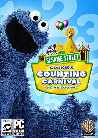 Sesame Street - Cookie s Counting Carnival (PC) PC Game