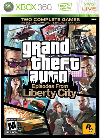 Grand Theft Auto - Episodes from Liberty City (XBOX360) XBOX360 Game