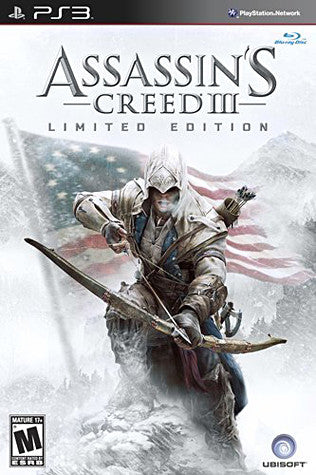 Assassin's Creed 3 - Limited Edition (PLAYSTATION3) PLAYSTATION3 Game