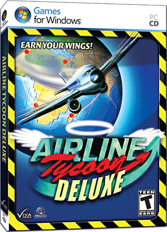 Airline Tycoon Deluxe (Limit 1 copy per client) (PC) PC Game