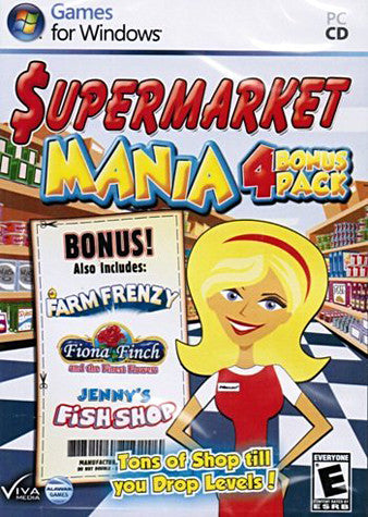 Supermarket Mania Bonus 4 Pack (PC) PC Game