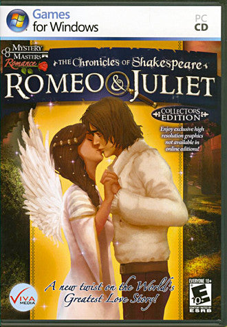 The Chronicles of Shakespeare: Romeo and Juliet - Collector's Edition (PC) PC Game