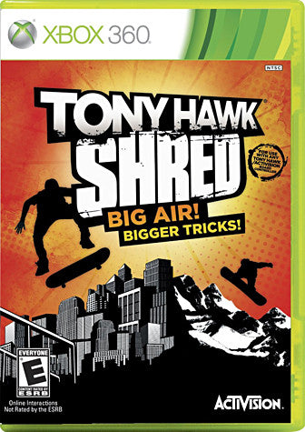 Tony Hawk - Shred (Game Only) (XBOX360) XBOX360 Game
