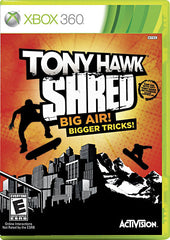 Tony Hawk - Shred (Game Only) (XBOX360)