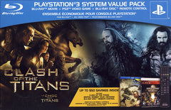 PS3 Value Pack (Includes - Clash Of The Titans, Mortal Kombat vs DC universe, PS3 Remote) (PLAYSTATION3)