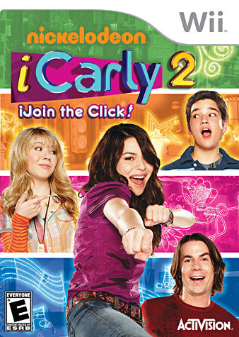 iCarly 2 - iJoin the Click! (NINTENDO WII) NINTENDO WII Game
