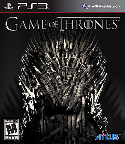 Game Of Thrones (Bilingual Cover) (PLAYSTATION3) PLAYSTATION3 Game