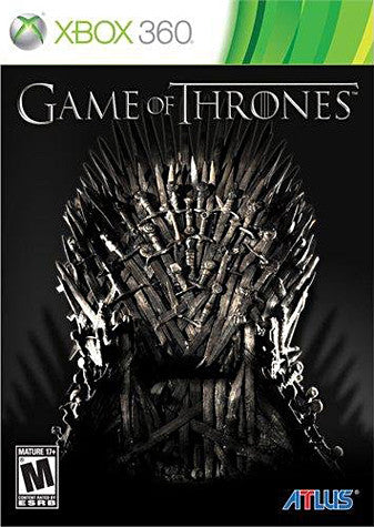 Game Of Thrones (Bilingual Cover) (XBOX360) XBOX360 Game