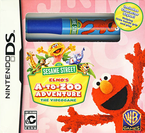 Sesame Street - Elmo's A-to-Zoo Adventure (With Stylus) (DS) DS Game