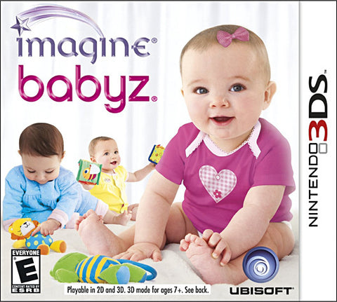 Imagine - Babyz (Trilingual Cover) (3DS) 3DS Game