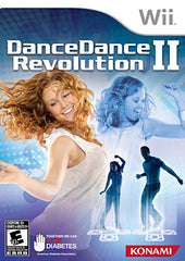 Dance Dance Revolution II (2) (Game Only) (NINTENDO WII)