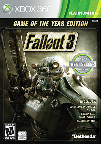Fallout 3 - Game of The Year Edition (XBOX360) XBOX360 Game