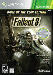 Fallout 3 - Game of The Year Edition (XBOX360)
