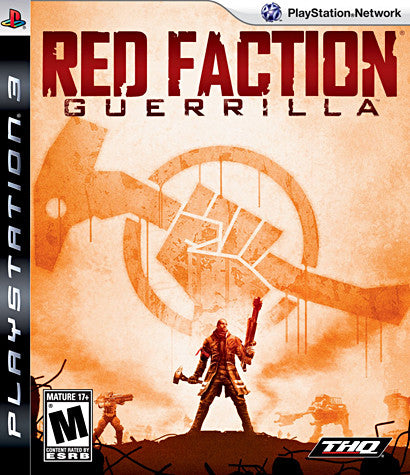 Red Faction Guerrilla (PLAYSTATION3) PLAYSTATION3 Game