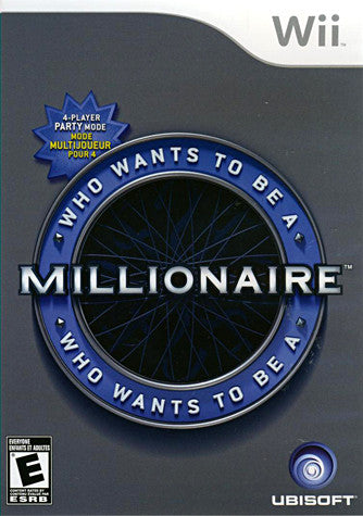 Who Wants to be a Millionaire (NINTENDO WII) NINTENDO WII Game
