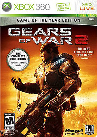 Gears Of War 2 (Game Of The Year) (Bilingal Cover) (XBOX360) XBOX360 Game