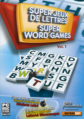 Super Word Games Vol. 1 (PC) PC Game
