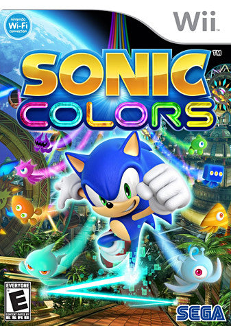 Sonic Colors (NINTENDO WII) NINTENDO WII Game