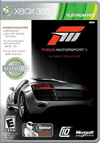 Forza Motorsport 3 - Ultimate (Ultimate Collection) (XBOX360) XBOX360 Game