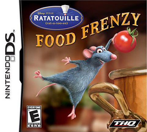 Ratatouille - Food Frenzy (DS) DS Game
