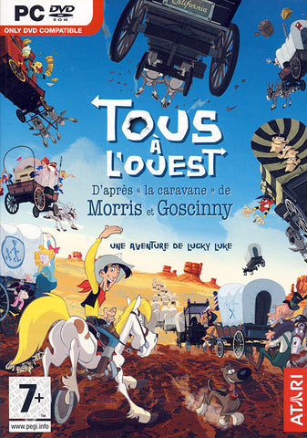 Lucky Luke - Tous A L'Ouest (French Version Only) (PC) PC Game