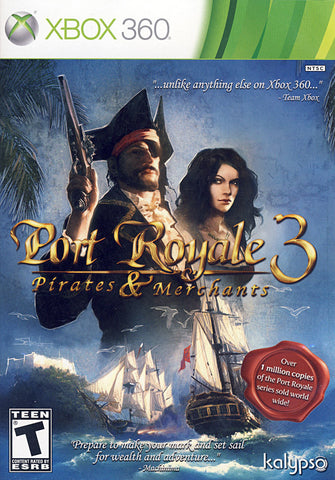 Port Royale 3 - Pirates And Merchants (XBOX360) XBOX360 Game